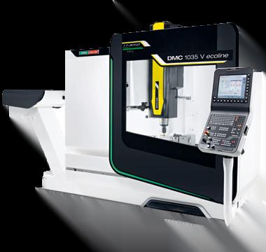 DMG 1035 V ECOLINE milling toronto canada machine shop