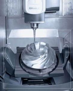 5 axis machine machining
